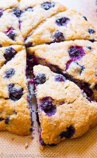 The BEST Blueberry Scones - Better than the bakery's!