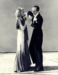 "Ginger and Fred in ""The Gay Divorcee"" = A friend of mine once sent me the following quote to tell me that he thought women like me were wonderful .... Ginger Rogers did EVERYTHING that Fred Astaire did, BUT SHE was able to do it going backwards AN..."