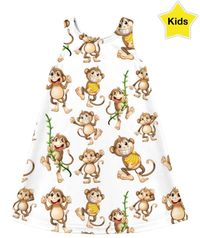 ROCD My Monkey Children's Dress $40.00