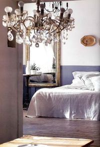 greige: interior design ideas and inspiration for the transitional home : Bed and bath...