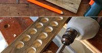 So cool! A DIY magnetic wall display in your kitchen of your favorite knives. Functional too! http://www.ehow.com/ehow-home/blog/want-to-display-your-favorite-knives-do-it-in-style-on-a-diy-rustic-wall-rack/?utm source=pinterest&utm medium=fanpage&amp...