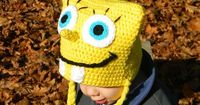 Squarebob Spongepants Crochet Hat Pattern by ItsATealThing on Etsy, $3.99
