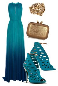 A fashion look from October 2014 featuring blue dress, high heel stilettos and heeled sandals. Browse and shop related looks.