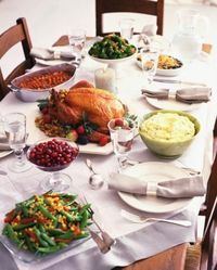 Thanksgiving table conversation starters.