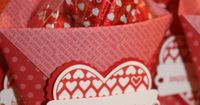 """Valentine Pouch. Paper 6""""x6"""". See Splitcoast stampers diaper fold pouch tutorial for directions. http://www.splitcoaststampers.com/resources/tutorials/diaperfoldpouch/"""