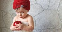 Flapper Hat Crochet Pattern Baby Child and by SweetKiwiCrochet, $3.49