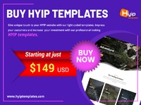 Want to earn more profit from your HYIP investment site then change your old templates with latest one from HYIPTemplates. HYIPTemplates provides the most stunning, user-friendly and affordable templates to the customers, that will increase your profit as...