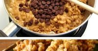 Stove Top Peanut Butter Cereal Cookies | 19 Perfect Summer Desserts That Will Make YouDrool
