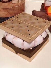 Yummy! That's what I say when I see Marji's S'more Marshmallow Box from CAMP FIREFLY SVG KIT. Kids and adults alike will truly enjoy this fun box!