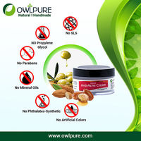 Get rid of acne and pimples permanently by using anti acne cream fro Owlpure.