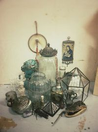 Top image source. Of all the décor crushes I have, vintage glass might just be number one. Every time I enter a thrift store (AKA every few days), the first thi