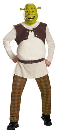 Shrek Deluxe Adult Costume Xlarge 50-52 $63.91 https://costumecauldron.com