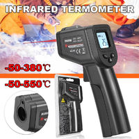 Handheld LCD Digital Laser Infrared Thermometer Non-contact IR Temperature Meter