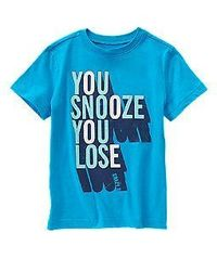 You Snooze You Lose Tee