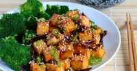 General Tso's Tofu - A vegetarian version of the General Tso's Chicken recipe