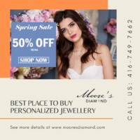 Moore's Diamond is a family-owned and operated Canadian company. We grew and opened a small shop, manufacturing for retail stores; while working our day jobs, and starting a family. Twenty-six years later, we are a family of 4 active people along wi...