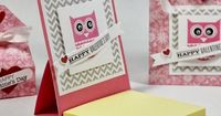 "Wizard's Hangout: Valentine 3""x3"" Post-it Note Cover {instructions}"