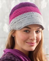 Free Pattern Latitude Hat |