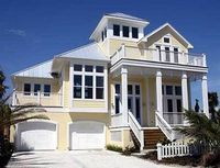 Classic Coastal House Plan - 13128FL | 2nd Floor Master Suite, Beach, Elevator, Florida, Media-Game-Home Theater, Narrow Lot, PDF, Photo Gallery, Shingle, Vacation | Architectural Designs