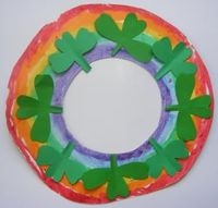 St Patrick's Day Wreath - Pinned by