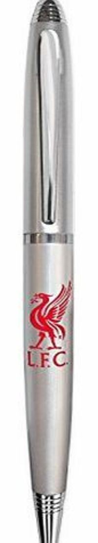 Liverpool F.C. Liverpool FC Official Football Gift Boxed Satin Chrome Ballpoint Pen Silver No description (Barcode EAN = 5030260207135). http://www.comparestoreprices.co.uk/executive-gifts/liverpool-f-c-liverpool-fc-official-football-gift-boxed-sa...