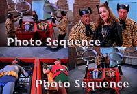 BATMAN Adam West Burt Ward Julie Newmar George Barrows PHOTO Sequence #01 - TvMovieMix