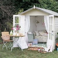 garden houses, garden sheds and sheds.