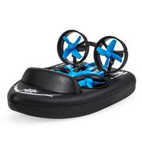 JJRC H36F Terzetto 1/20 2.4G 3 In 1 RC Vehicle Flying Drone Land Driving Boat RTR Model $33.18