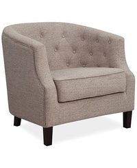 $249 Macys Penelope Fabric Accent Chair, Direct Ship