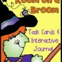 """Have you read the book """"Room on a Broom"""" by Julia Donaldson? It is a fun book that is sure to enrich your Halloween lessons. $"""