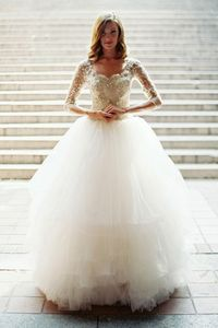 """Bridal Guide's """"Gowns"""" Pinterest board featur..."""
