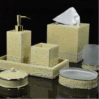 Caviar Cream Pearl Bath Collection by Mike + Ally $462.00