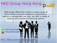 HKD Group offers their clients a broad range of financial services and solutions, In addition to portfolio management services, we offer a range of banking and investment banking options.