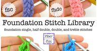 We've been learning all about foundation stitches for the past few weeks...here is the complete collection! Learning and practicing these stitches is so fantast