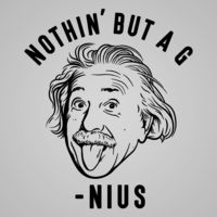 Nothin' But A Genius Women's Fit T-Shirt $22.99 �œ� Handcrafted in USA! �œ� Support American Artisans