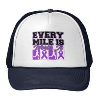 Lupus Every Mile is Worth It Hat