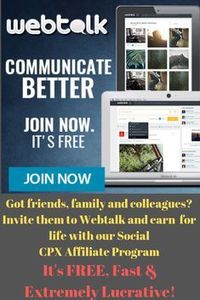 Have a look at this, it's a new social network, great for social and business similar to Facebook but less restrictions and has great potential to become a major competitor. The founder was featured on morning TV in America 20th Sept and its taking ...
