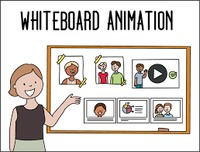 whiteboard animation video company is a process where a story or a storyboard with pictures gets drawn on a whiteboard or something that looks like a whiteboard . They are videos that draw themselves. Originally, animators would record themselves in the p...