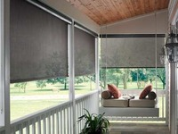 5% Exterior Solar Shades are the perfect coverings to make your outdoor comfortable to sit, relax and enjoy. Exterior Solar Shades from Graber made your outdoor stay very easy by putting these up outside and have a cozy and natural environment with ad...