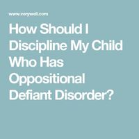 Learn how to help kids with oppositional defiant disorder manage their behaviors with these parenting techniques.