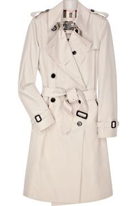 Burberry cotton-blend trench coat - so beautiful, it's my dream to own one!
