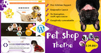 WordPress Pet Shop Theme