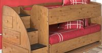 Twin Loft Bed with Storage via Wayfair