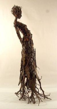 Becky Grismer. Roots. Rootsis Part Of The Series Of Tree Bark...