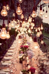 How spectacular is this?! #cottage #party #homedecor #outdoors