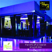 Starting off, olives has one of the best ambiences among restaurants all around Ahmedabad. It has an extremely elegant look. A perfect place to have an impromptu photoshoot while you wait for mouth watering food to reach your table. Speaking of food, oliv...