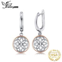JewelryPalace Celtic Knot Dangle Drop Earrings 925 Sterling Silver Earrings For Women Korean Earrings Fashion Jewelry 2019 $27.00
