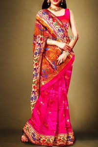 online shopping for wedding pink handloom silk sarees are available at www.unnatisilks.com