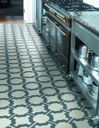When was the last time you thought about vinyl floor tiles? If you're like us, it's been, well, forever. That's why we took note when we saw UK designer Ne