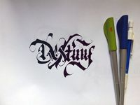 Some random calligraphy photos from my camera by WLK , via Behance